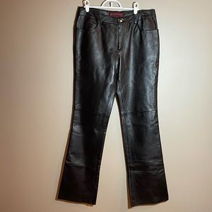 Margaret Godfrey Leather Pants
